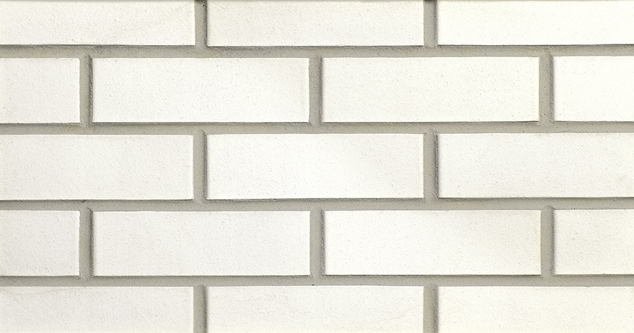 Aspen White Smooth Thin Brick