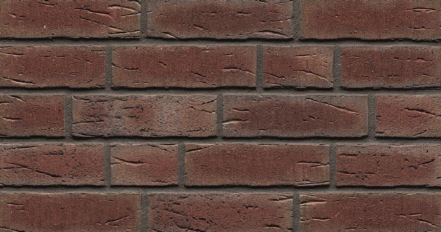 "664 Deep Wine Handform Thin Brick 9/16"""