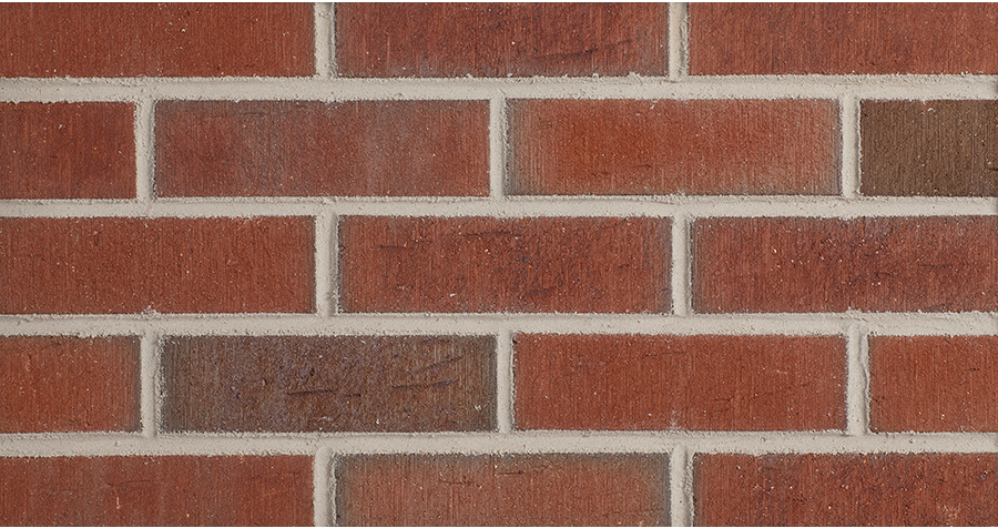 387 Rustic Red Flashed Thin Brick