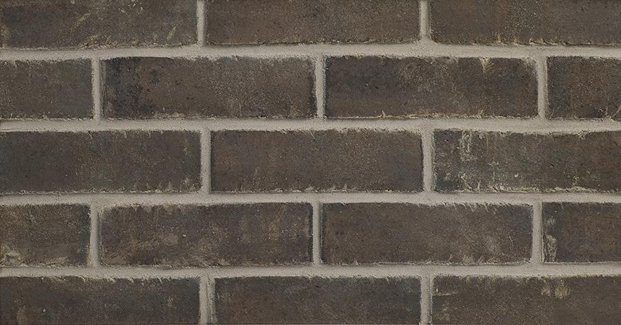 """Black Beauty Thin Brick 1/2"""""""