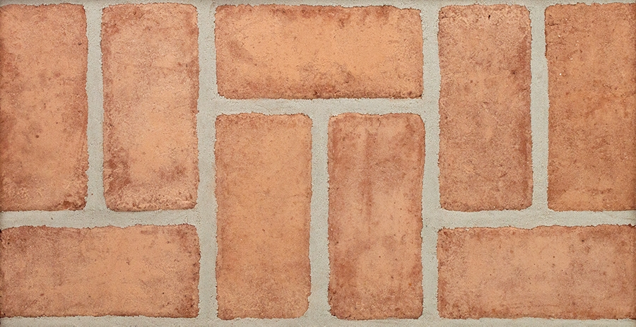Rose Red Range Modular Paver