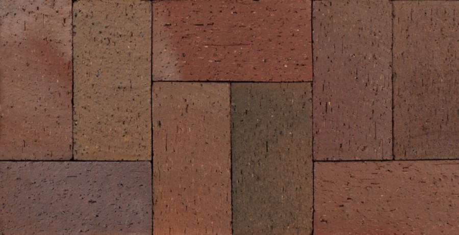 Flashed Maroon Paver