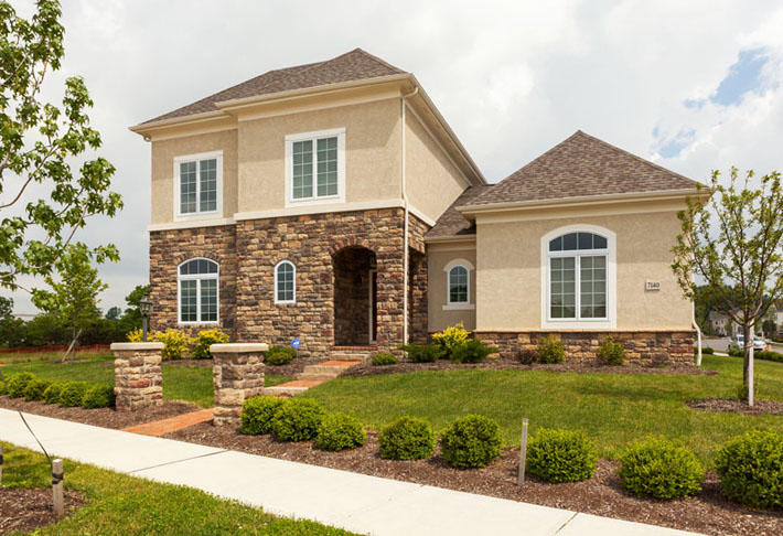 Stone Home with Ozark Limestone