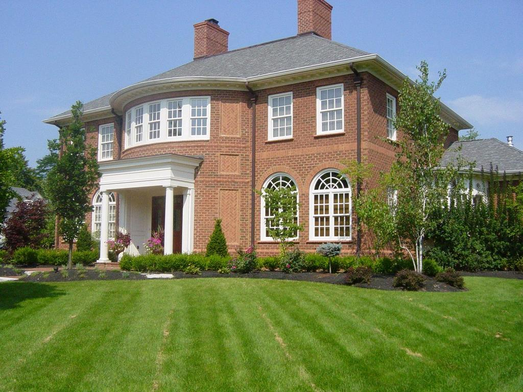 Brick Home With Plymouth