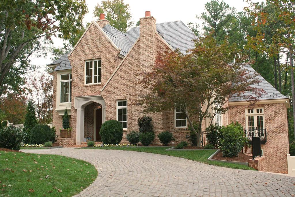 Brick Home With English Manor Handmade