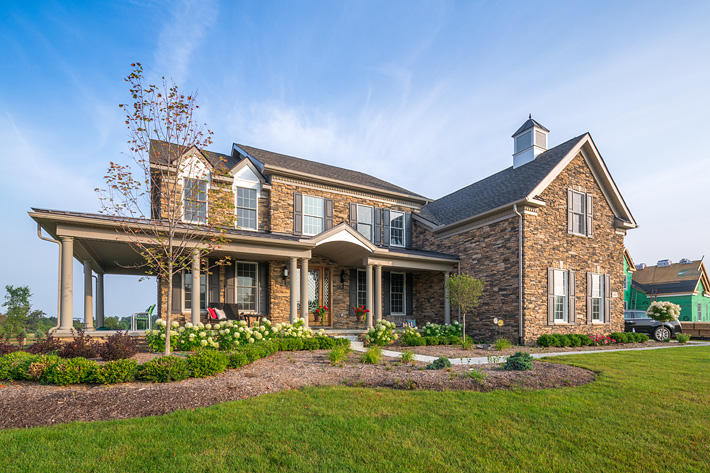 Stone Home with Ashford Ledgestone