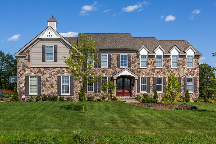 Stone Home with Buckingham Fieldstone