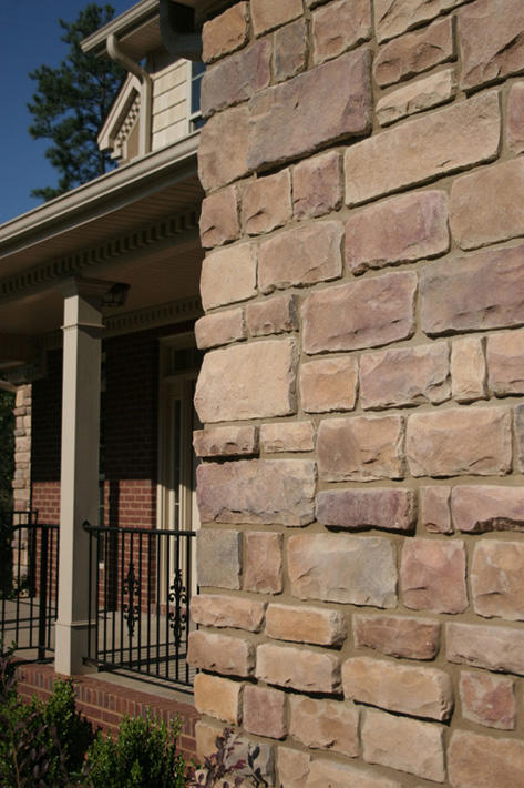Stone Home with Allegheny Cut Cobble