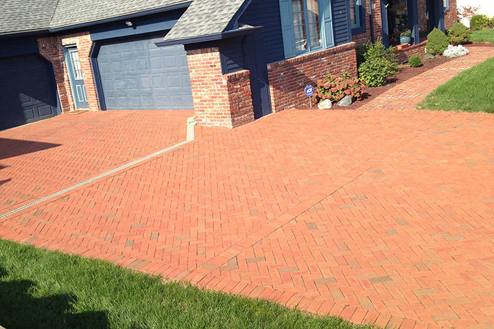 Brick Home with Albany Paver