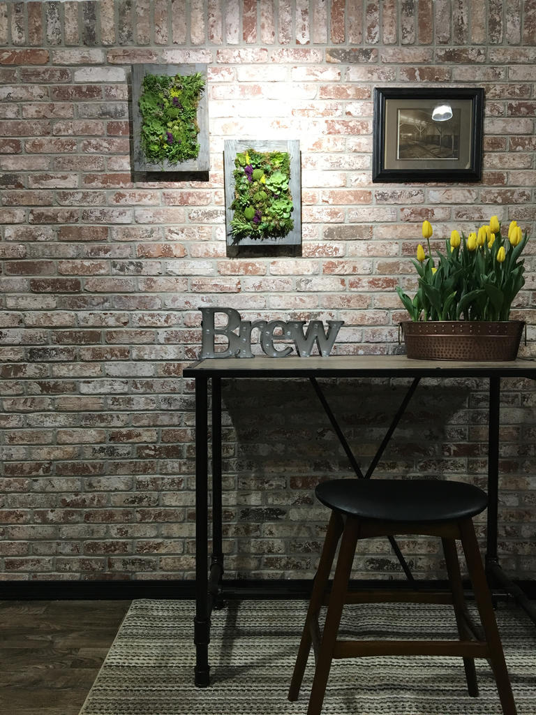 Accent Wall with Olde City Thin Brick