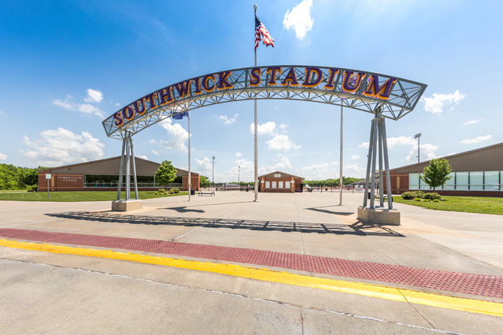 Southwick Stadium at Belton HS